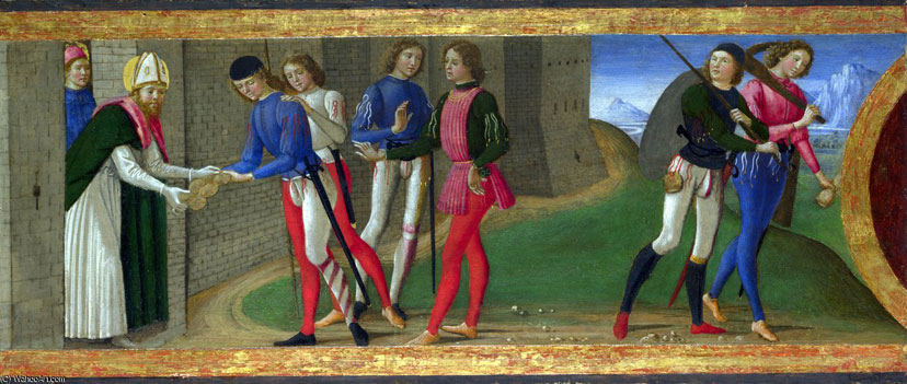 domenico ghirlandaio  a-legend-of-saints-justus-and-clement-of-volterra
